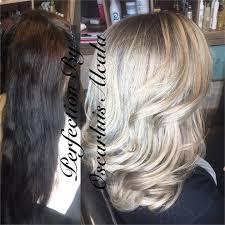 black hair to blonde hair transformations transformation almost black to blonde perfection career