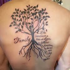 celtic family tree tattoos