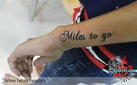 designer text aatman tattoos in bangalore india