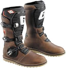 motorcycle riding boots amazon com gaerne balance oiled mens brown motocross boots 10