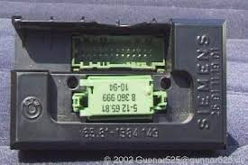 retrofit bc iv in e34 cluster with 2 rear connectors