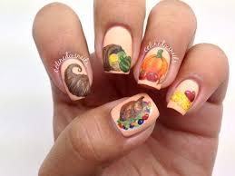 thanksgiving themed thanksgiving themed nail art 2