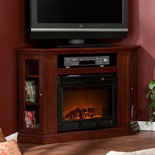 corner tv cabinet with electric fireplace electric fireplaces southern enterprises electric fireplaces