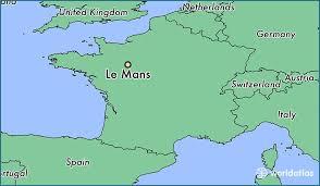 map of le mans where is le mans le mans pays de la loire map