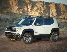 mojave jeep renegade the new 2015 renegade trailhawk showing its off road tires and