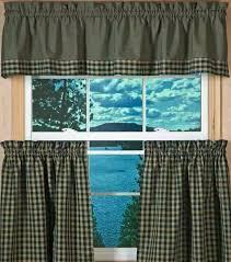 Curtains Valances Check Curtain Valances