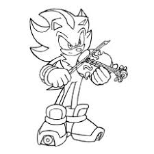 coloring pages sonic 10 lovely violin coloring pages for your toddler