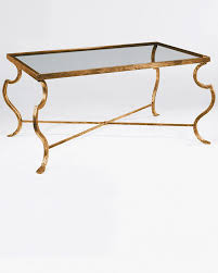 wrought iron coffee table with glass top rectangular wrought iron coffee table with distressed antiqued gold