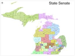 Maps Of Michigan Republicans Release Map Of Proposed Redistricting Of Michigan