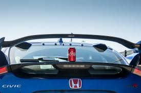 subaru hatchback wing 2017 honda civic type r what u0027s up with the wing news cars com