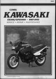 kawasaki gpz500 service manual