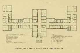 general hospital floor plan designed to heal the connecticut general hospital for the insane