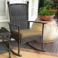 Rocker Cushions Wicker Rocker Cushions The Lake View City Rocking Chair Outdoor