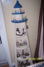 Lighthouse Bathroom Accessories A Lighthouse Shelf That I Dearly Love Holds A Lot Of Lighthouses