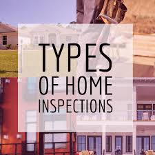 what different types of home inspections are there carnes home