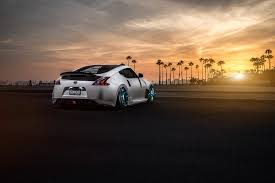 nissan 370z stance nissan 370z car stance sunlight palm trees wallpapers hd
