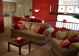 living room with red accents red accent wall design ideas americoelectric com