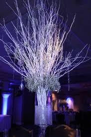 wedding centerpieces with tree branches mason jar lanterns