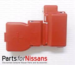 nissan altima 2005 battery terminal genuine nissan top post battery terminal protector cover fits many