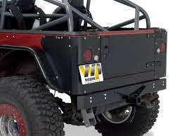 jeep tailgate storage amazon com warrior products s908d steel tailgate cover for jeep
