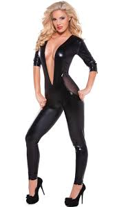 club clothes look and mesh catsuit suit costume club clothes