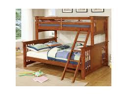 Bunk Bed Mattress Board Furniture Of America Creek Cm Bk604oak Bed Xl