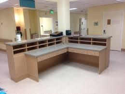 Hospital Reception Desk Custom Reception Desks I U0026e Cabinets