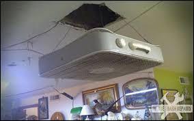 Installing A Ceiling Fan Box by Redneck Ceiling Fan Whitetrashrepairs Com