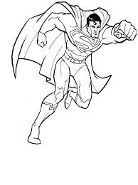 download superman coloring pages free printable print superman