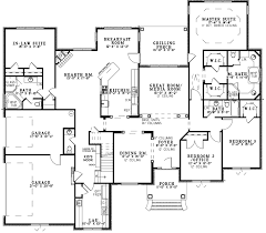 luxury ranch floor plans leighton manor ranch home plan 055s 0124 house plans and more
