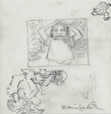 maurice sendak u2013 original art a framed original drawing from bell