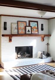 brick fireplace paint style u2014 jessica color steps to use brick