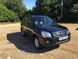 kia sportage diesel 2 0 manual full leather only 2 owners in