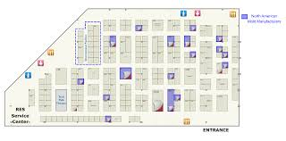 Exhibit Floor Plan Exhibit The Event For Mold Manufacturing