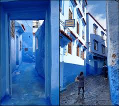 Morocco Blue City by Scrubbed The Wrong Way My Moroccan Massage That Wasn U0027t