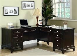 Desk L With Organizer Office L Desk Bethebridge Co
