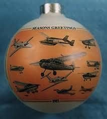 ornament cessna aircraft montage
