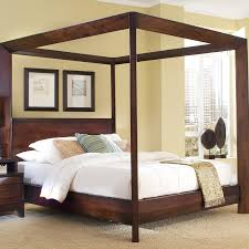 Home Image Island Canopy Bed  Reviews Wayfair - Bedroom island