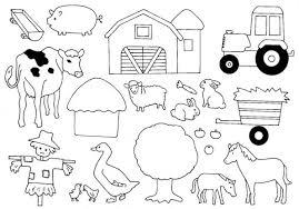 Animaux de la ferme 7 Animaux  Coloriages à imprimer