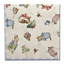 rabbit party supplies rabbit napkins 25cm rabbit party supplies party ark