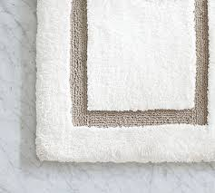 Remarkable Double Wide Bath Rug Textured Organic Bath Rug Double
