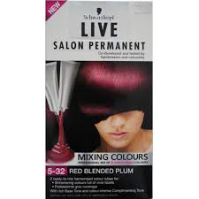 how to mix schwarzkopf hair color schwarzkopf live salon permanent mixing colour 5 32 mixing red