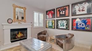 Green Bay Packers Bedroom Ideas Former Green Bay Packer Nick Barnett Puts His Carlsbad Home Up For
