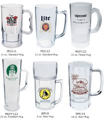 design plastic mug custom plastic beer mugs 8 to 22 ounce plastic beer mugs imprinted