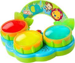 amazon com bright starts safari beats musical toy baby