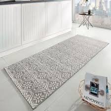 läufer küche küchenläufer flachgewebe läufer teppich küche creation grau creme