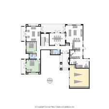floor plan cad cp0499 1 6s6b2g u2013 house floor plan pdf cad concept plans