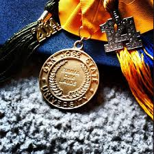 graduation medals diploma and honors commencement guide san jose state