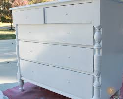 Glossy White Dresser Antique White Dresser Domestic Charm