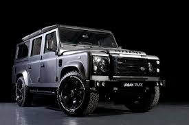 range rover truck interior land rover defender gets tricked out by urban truck autoevolution